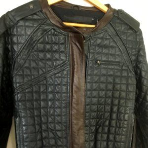 L.A.M.B. quilted leather jacket